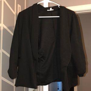 Maurices XL black blazer— fits like a large